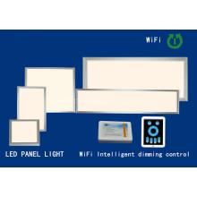 Nuevo 6060 54W WiFi inteligente Dimmable controlado SMD Panel de luz