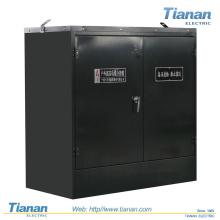 Caixa de derivação de cabos, subestação pré-fabricada, subestação combinada, subestação de pacote de transformadores