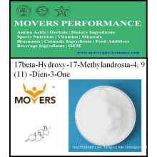 Productos Populares 17beta-Hydroxy-17-Methylandrosta-4, 9 (11) -Dien-3-One 99%