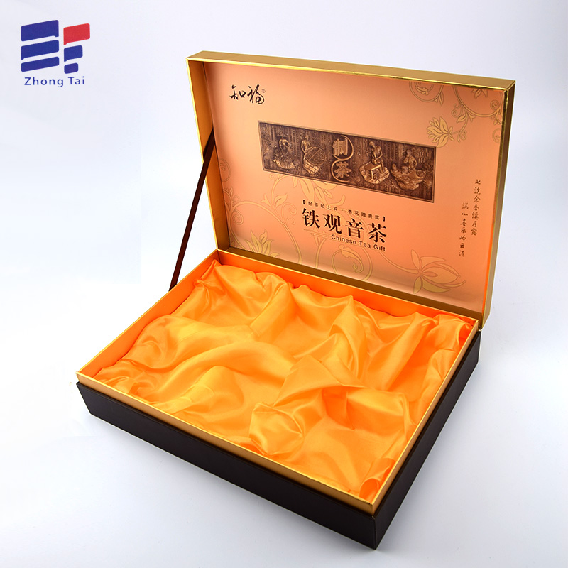 Book Shape Wooden Tea Packaging Box