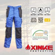 pantalones bajos de formaldehído fr agua y aceite repelente para los trabajadores
