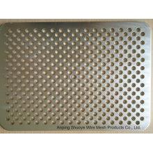 Алюминиевая перфорированная металлическая стальная сетка с покрытием из ПВХ