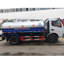 5mm Carbon steel 2000-3000 liters toilet vacuum truck