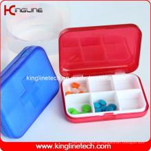 Plastic Square Pill Box (KL-9063)