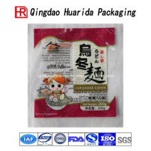 Bolso de empaquetado plástico de la fábrica del bolso de la comida de los tallarines de Udon coloridos de la fábrica directa