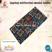 Wholesale fashion dresses multifunctional seamless polyester headband wholesale custom bandana