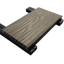 200 * 25 extérieur en bois anti-uv bois composite Decking Wpc Decking