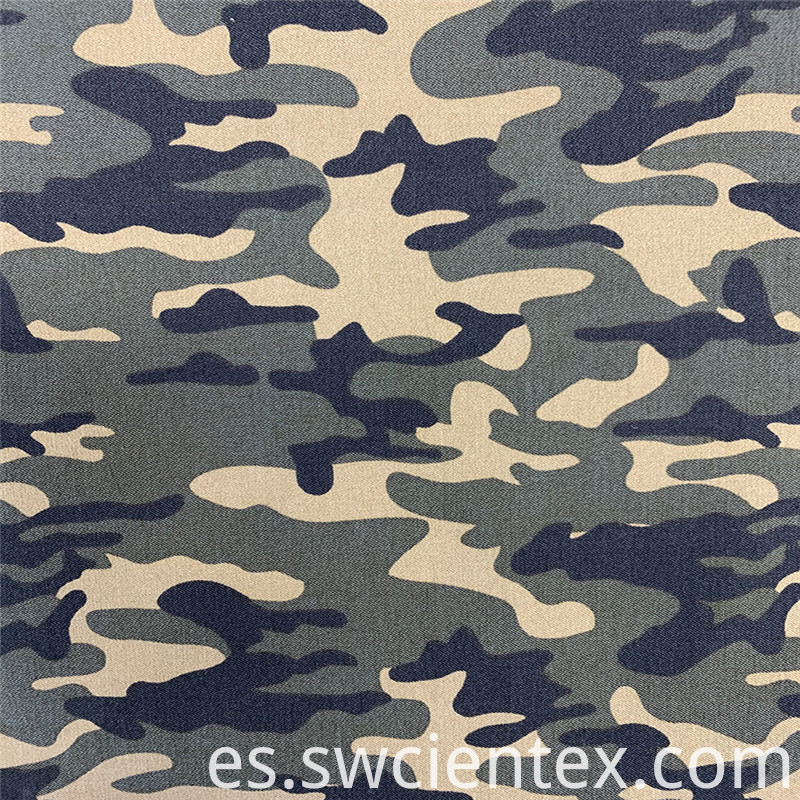 Wholesale Woodland Camo Ripstop Fabric