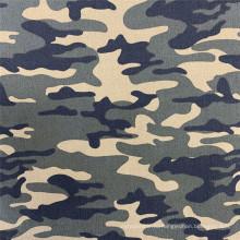 Ткань с камуфляжным принтом NR Bengaline Woodland Ripstop