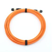 MPO MTP 50/125 12 núcleos de fibra óptica de 3,0 mm Patchcord