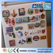 Kühlschrankmagnet Weltstadt-Kühlschrank-Magnet