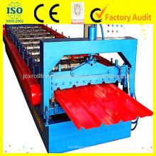 JCX IBR Machine de formage de rouleaux de feuilles de toit en métal / Machine de fabrication de carreaux de toit