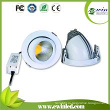 Alta calidad 26W COB giratorio LED Downlight con 3 años de garantía