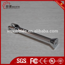 chrome plated or zinc plated precision cnc machining steel parts/5axi cnc machining and welding parts