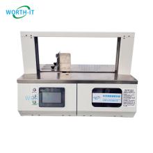 20MM Wide Paper Bundle Bands Benchtop Paper Banding Machine with Auto Sensor
