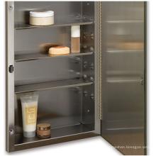 "S-Cube 16""x26"" Recess Mount Steel Shelves Medicine Cabinet"