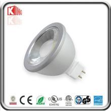 12V MR16 Gu5.3 Lámpara LED regulable COB LED