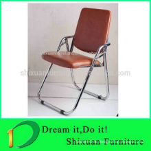 Low Price Leather Folding Chair waiting room chair