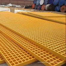 Grade de Pultruded de FRP / GRP, Grating da fibra de vidro com Anti-Fogo