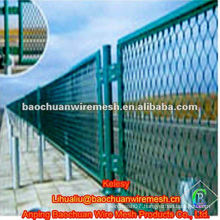 High quality green traffic fence expanded metal lath in store