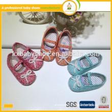 manufacturer in ningbo soft cotton fabric fashion kids dress shoes