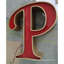 Pop Advertising Outdoor Signage Leakage Letter Sign