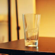 Gobelets en verre transparent de 100 ml