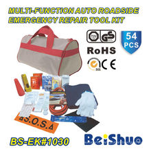 54PCS Roadside Safety Tool Kit for Car