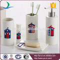 Essentials Decor Collection 6-Piece Ceramic Bathroom Set Wholesale