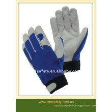 Industry safety pig/goat skin leather tool gloves ZM321-H