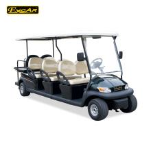 Excar 8 lugares carrinho de golfe elétrico carrinho de golfe barato para venda carro de turismo