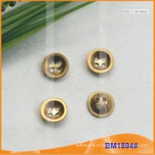 Цинковый сплав 4 отверстия кнопки BM1594