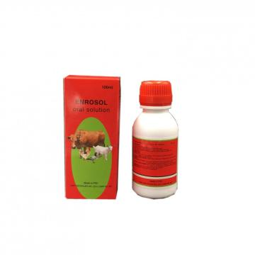 Enrofloxacin10% for Oral Solution for Vet