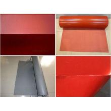 Silicone rétractable tunnel Rideau tuyau flexible accouplement compensateur 0,6 mm d'épaisseur