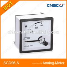 SCD96-A Medidor analógico del panel de la corriente del amperio 96 * 96m m el mejor precio