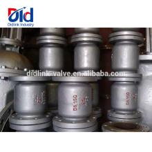 Type de levée de clapet de retenue vertical à basse pression en acier moulé chimique en acier traité