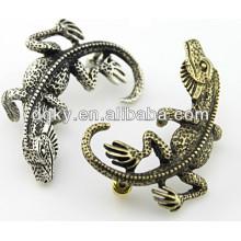 Joyería del cuerpo del pun ¢ o del oído del pendiente del gecko de los lagartos del vintage