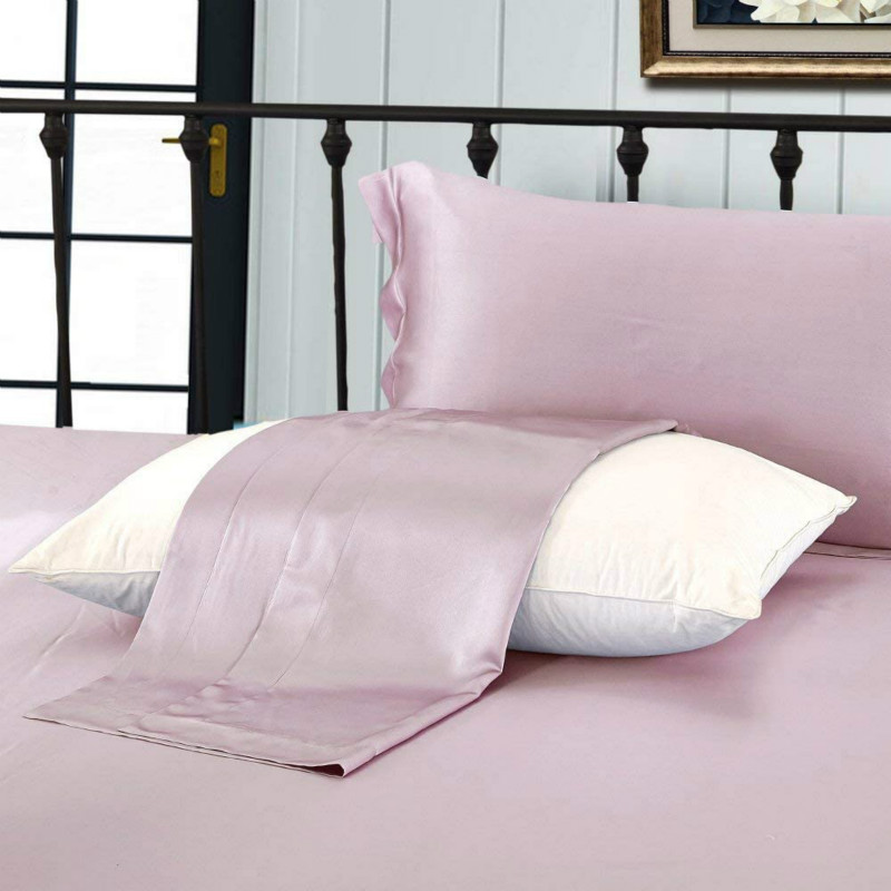 Rosy Pink Pillowcases 2 Pack