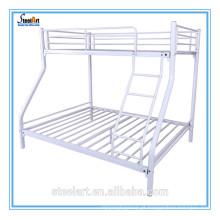 Espaço de poupança de móveis de metal quarto duplo deck cama