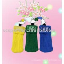 knitted polyester mobile phone socks