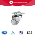 Plate Swivel Transparant Industrial Caster