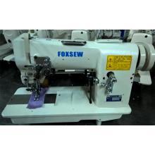 Máquina de coser hemstitch con extractor y cortador