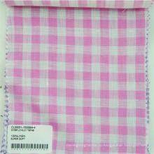 покрашенная пряжей linen ткань продается от фабрики/производителя