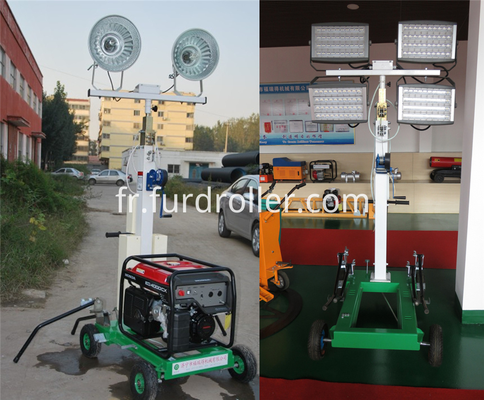 FZM-1000A Portable Light tower For Sale