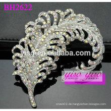 Schmetterling dekorative Kristall Brosche