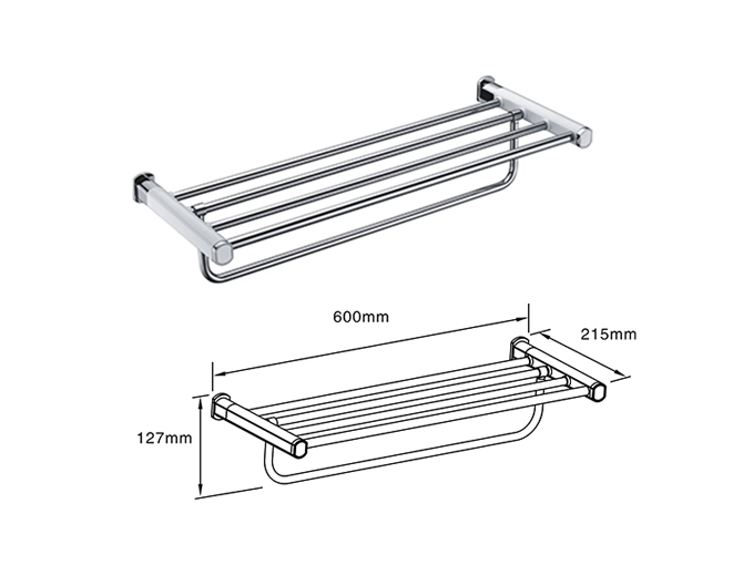 Towel Rack with Strong storage capacity