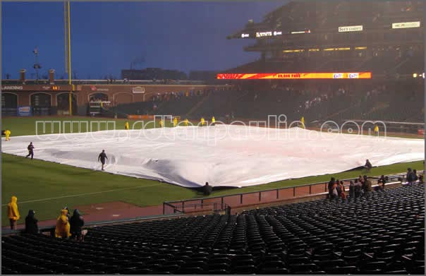 Baseball Field Cover Tarp