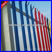 Factory ISO 9001:2008 Coloured Palisade Fencing