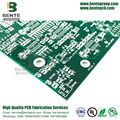 FR4 Tg135 Quickturn PCB 2 couches PCB Immersion Sliver