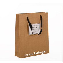 Factory Customized Kraft Recyclable Paper Gift Packaging Bag